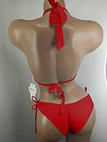 Купальник с бразилиана Kesell 2144 красный на 42 44 46 48 50 размер, фото 2