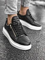 Мужские кроссовки pau9 black/white