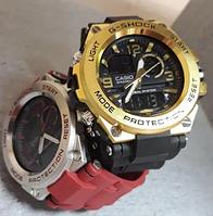 Мужские наручные часы Casio G-Shock G-Steel Стальной корпус!