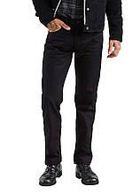 Джинсы Levi 501 Stretch Polished Black