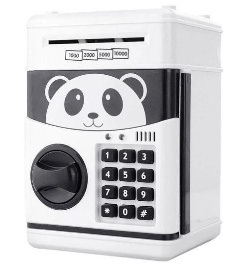 Сейф-скарбничка дитячий Cartoon Box 7030 з кодовим замком, панда