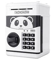 Сейф-копилка детский Cartoon Box 7030 с кодовым замком, панда