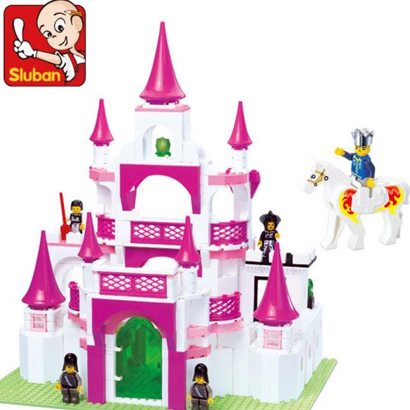 Конструктор детский замок для принцессы
