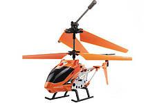 Вертоліт акум р/у 33008 помаранчевий, фото 3