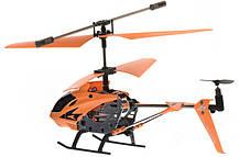 Вертоліт акум р/у 33008 помаранчевий, фото 2