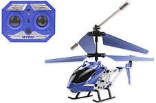 Вертоліт акум р/у 33008 синій, фото 3