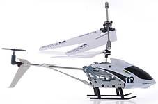 Вертолет аккум р/у 33008 белый, фото 2