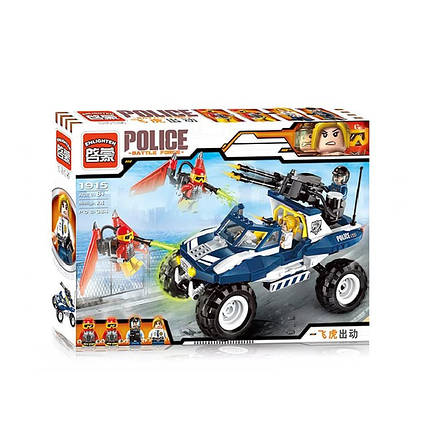 Конструктор детский полицейская машинка внедорожник, фото 2