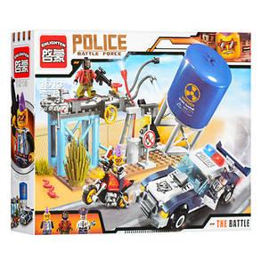 Конструктор детский для мальчиков пластик полиция, фото 2