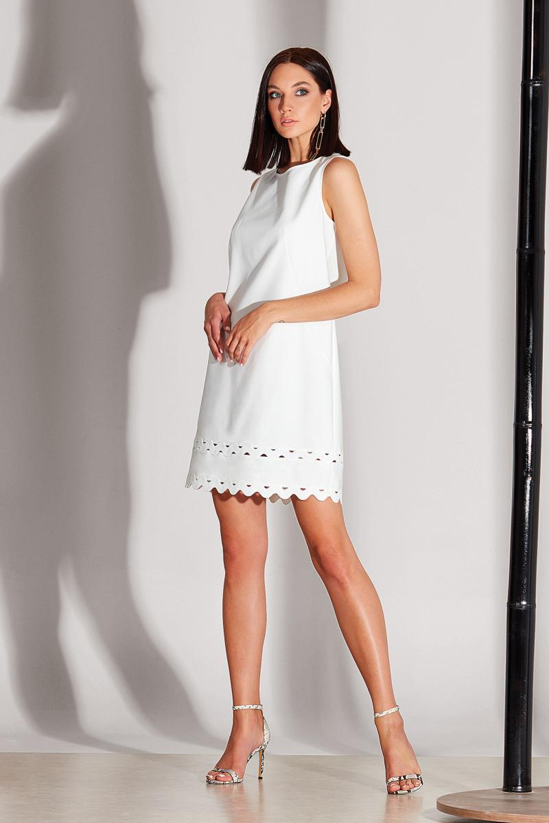 Белое женское платье Noche Mio, CRETE 1.131
