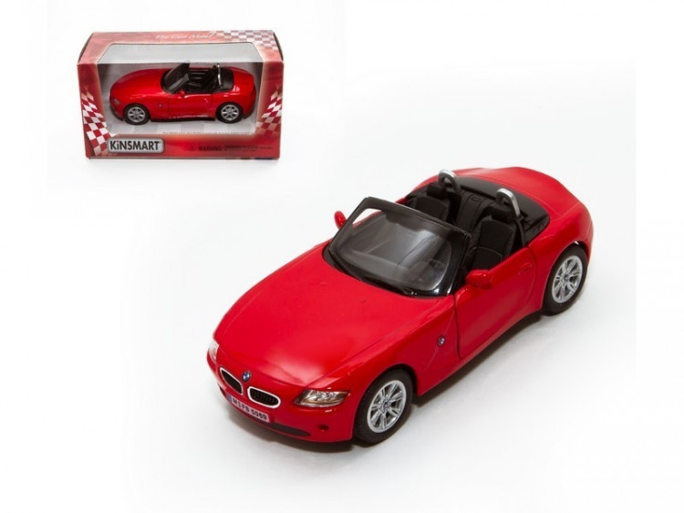 "Жел. машинка КТ5069 ""BMW Z4"""