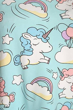Молодежная пижама единорог 777, фото 3
