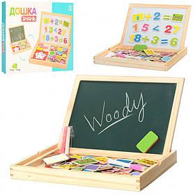 Детская двухсторонняя деревянная игрушка Досточка для творчества