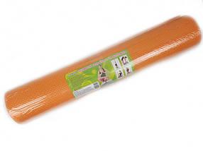 Коврик для спорта, коврик для йоги, туристический коврик,  йогамат.  (Оранжевый)