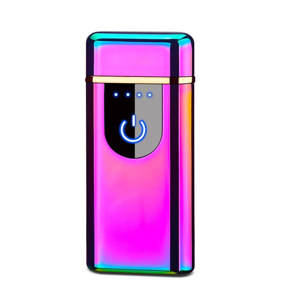 Сенсорная USB зажигалка со спиралью накаливания Lighter Хамелеон