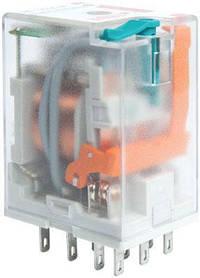 Реле промежуточное ETI ERM4-012DCL 4P 12V DC 6А LED 2473021 (электромеханическое)