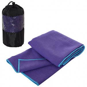 Килимок для фітнесу/ килимок для йоги (Фіолетовий), фото 2