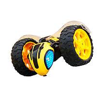 Машина перевертыш пчела на пульте управления желтый, фото 3