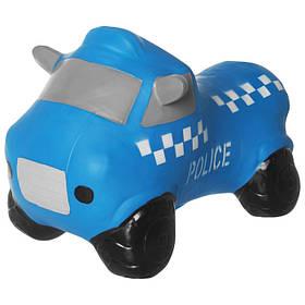 Прыгун машина Полиция (Синий) / Прыгун для детей