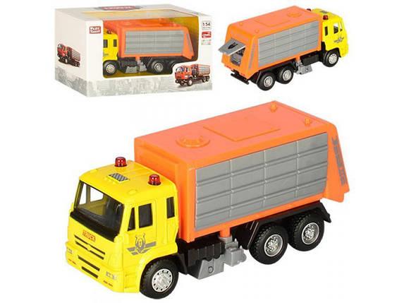 """Детская машинка """"Мусоровоз оранжевый"""" PLAY SMART / Детские игрушки, фото 2"""