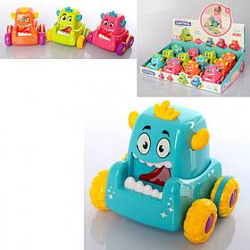 """Машинка детская цветная """"Монстрики"""" / Детские игрушки"""