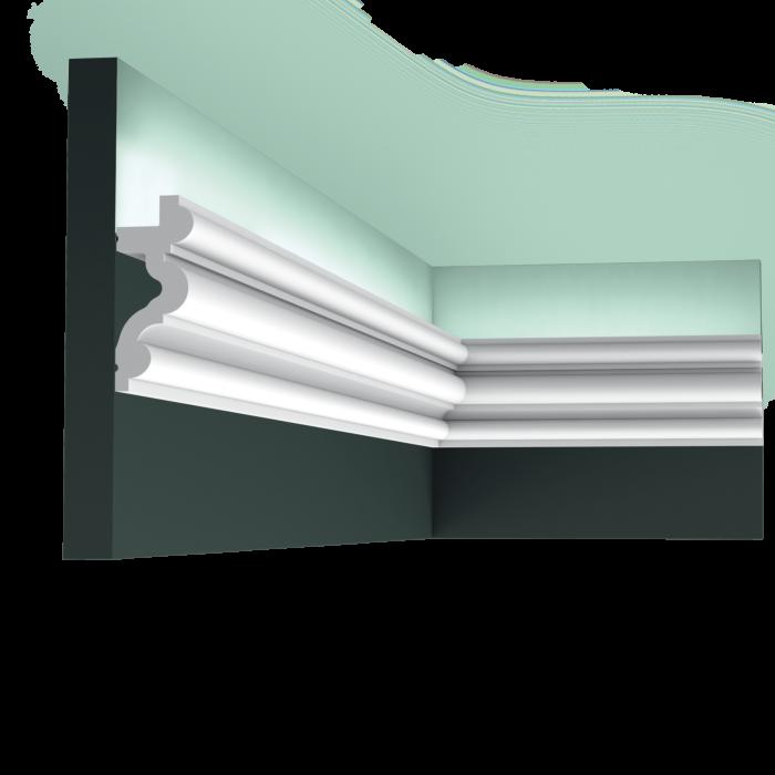 C324 карниз Orac Decor 200 x 8,3 x 3,4 см