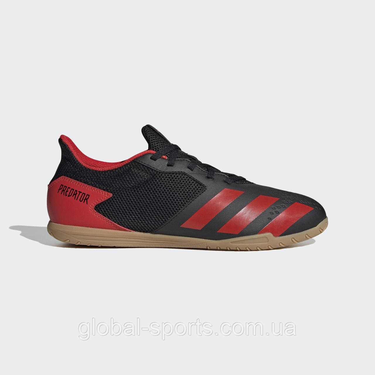 Футбольные бутсы (футзалки) Adidas Predator 20.4 IN Sala(Артикул:EE9580)