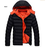 Мужская куртка пуховик, разные цвета  МК-243-О, фото 1