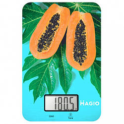 Весы кухонные электронные Magio MG-790, манго