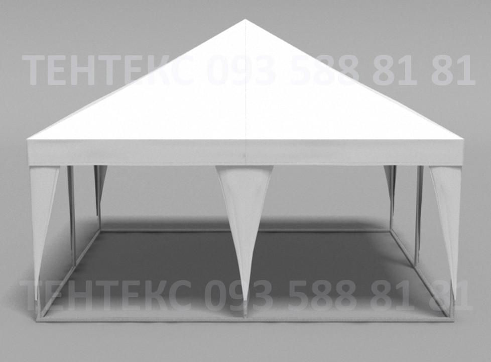 "Торговый шатер 5х5 ""Пирамида""  Белый"
