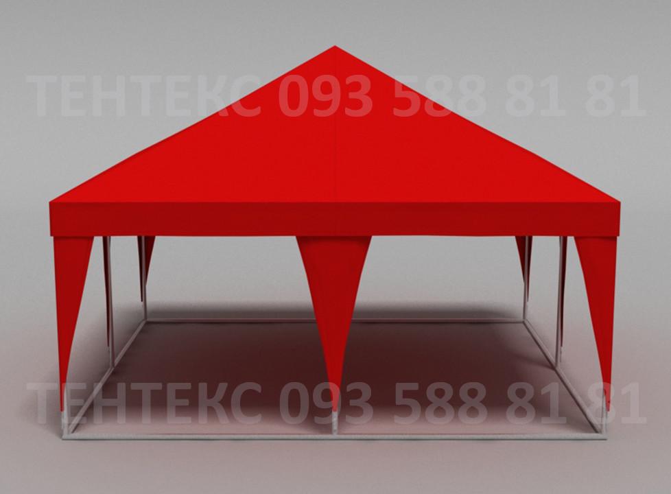 "Шатер-палатка ""Пирамида 5х5"" Красный"