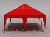 "Шатер-палатка ""Пирамида 5х5"" Красный, фото 1"