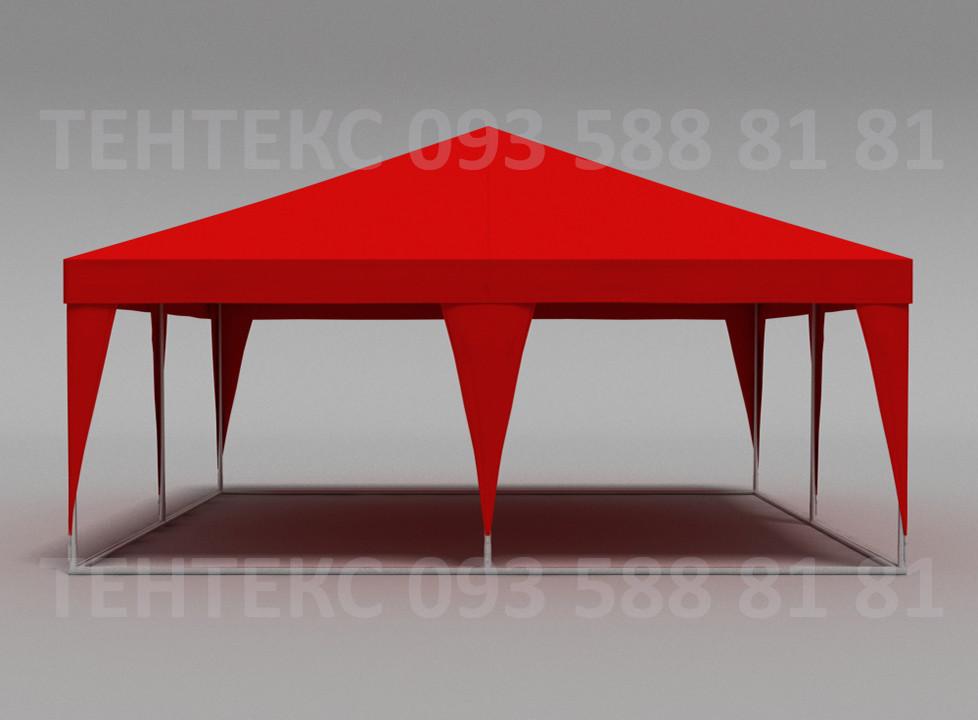 "Торговый шатер большой ""Пирамида 6х6"" Красный"