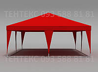 "Торговый шатер большой ""Пирамида 6х6"" Красный, фото 1"