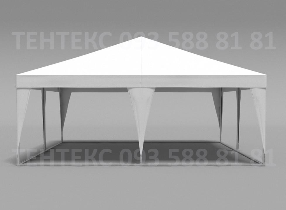 "Торговый шатер палатка ""Пирамида 6х6"" Белый"