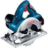 Аккумуляторная циркулярная пила Bosch GKS 18 V-LI Professional (18 В, без АКБ) (060166H006)
