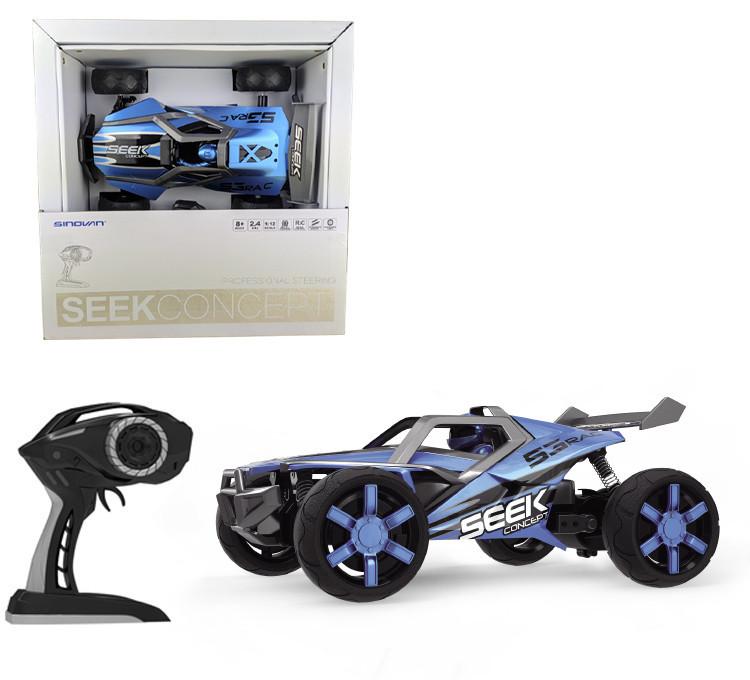 Машинка джип вездеход на пульте управления S9302A Синий