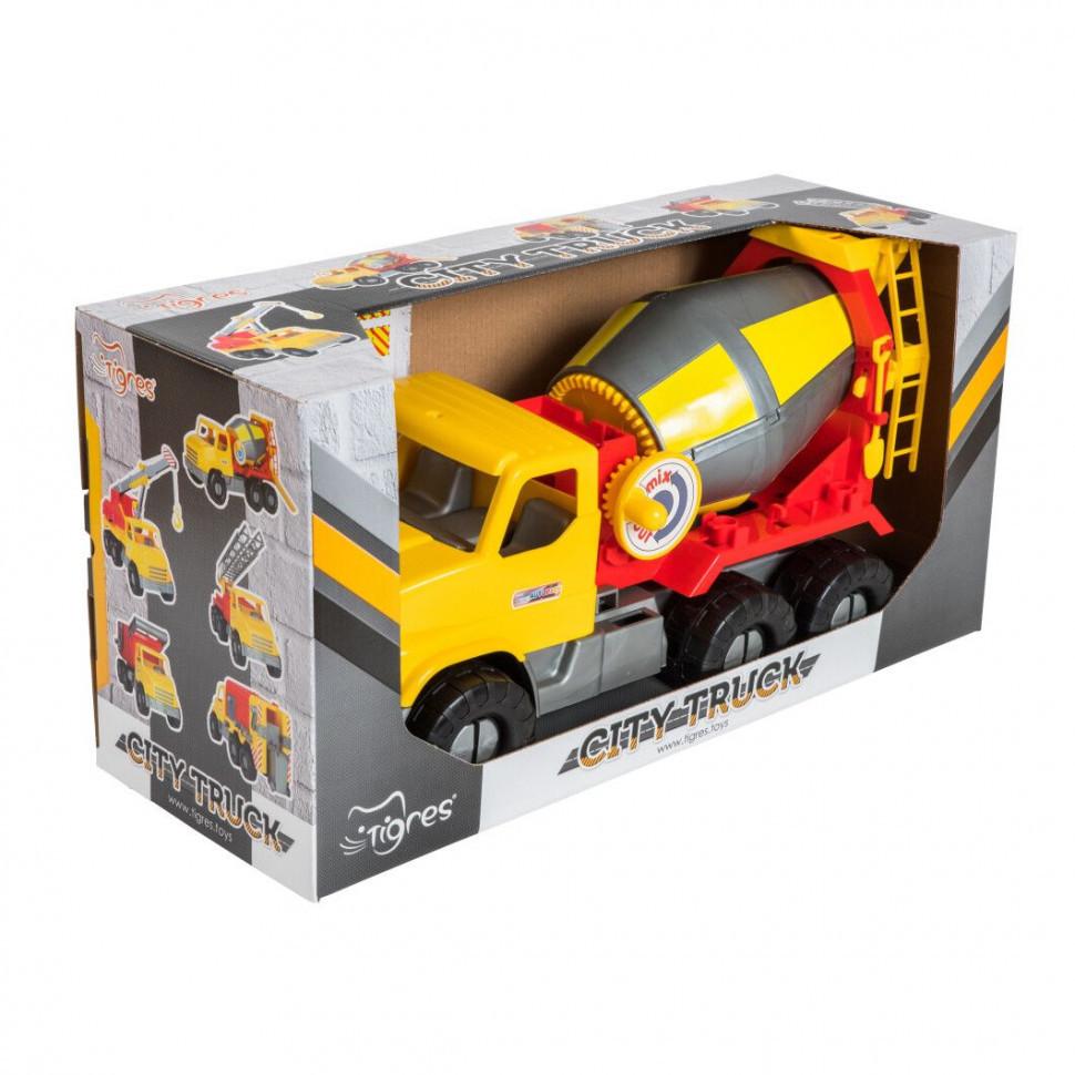 """Авто """"City Truck"""" бетоносмеситель в коробке 39365"""