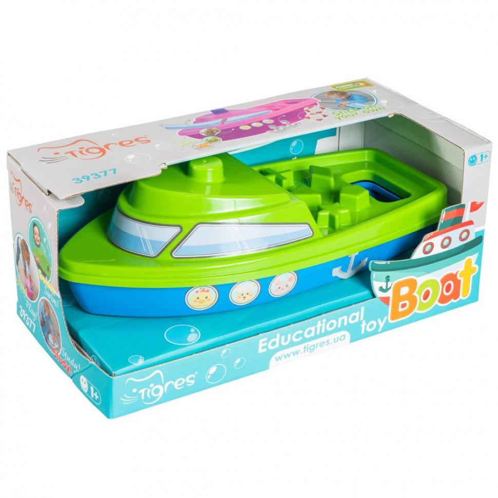 """Розвиваюча іграшка """"Кораблик"""" в коробці 39377 (Зелений)"""