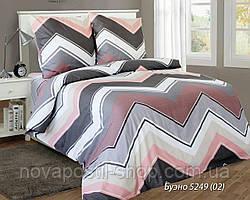 Ткань для постельного белья, бязь белорусская Буэно розовое