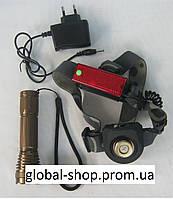 2 в 1! Налобный и ручной фонарь Bailong BL-6811