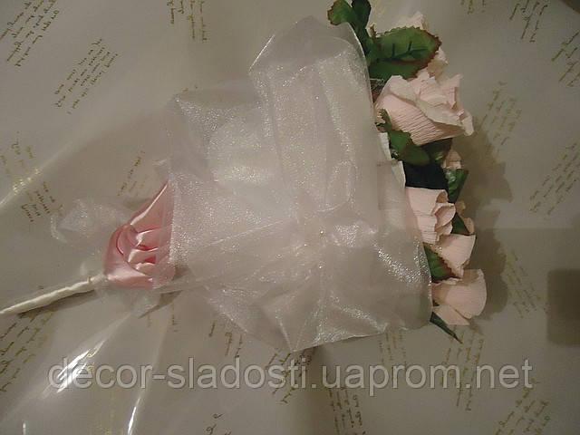 """Букет из конфет ручной""""Розы"""""""