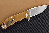Нож складной CH 3504-G10 Brown (CH Knives), фото 2