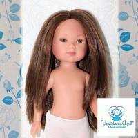 Кукла Карлотта, с каштановыми волосами, нюд, Vestida de Azul, фото 1