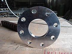 Плоский нержавеющий фланец DN 15 PN 10  (Труба 21,3 мм)