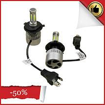 Ксеноновые лампочки для фар, LED лампы Xenon RS H4 Ксенон, автосвет, светотехника для автомобиля, фото 2