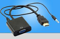 Конвертер с HDMI на VGA + AUDIO (3,5)