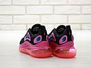 Женские кроссовки Nike Air Max 720 Black Pink, фото 4