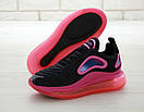 Женские кроссовки Nike Air Max 720 Black Pink, фото 5