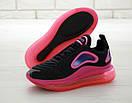 Жіночі Кросівки Nike Air Max 720 Black Pink, фото 5
